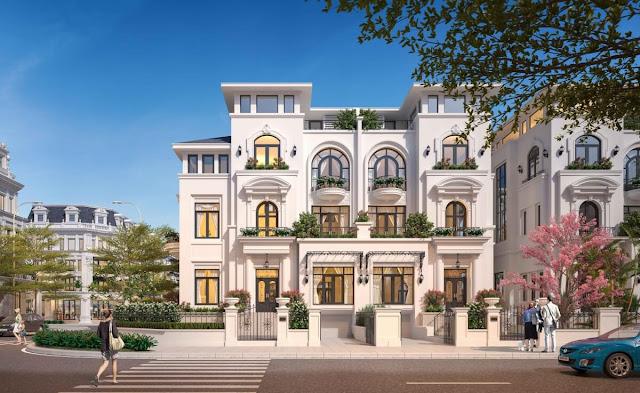 Biệt thự Louis City - mạng đậm nét kiến trúc châu Âu