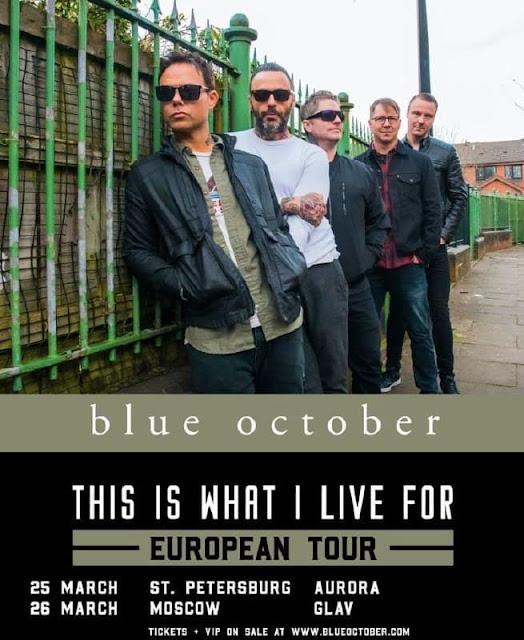 Blue October в России