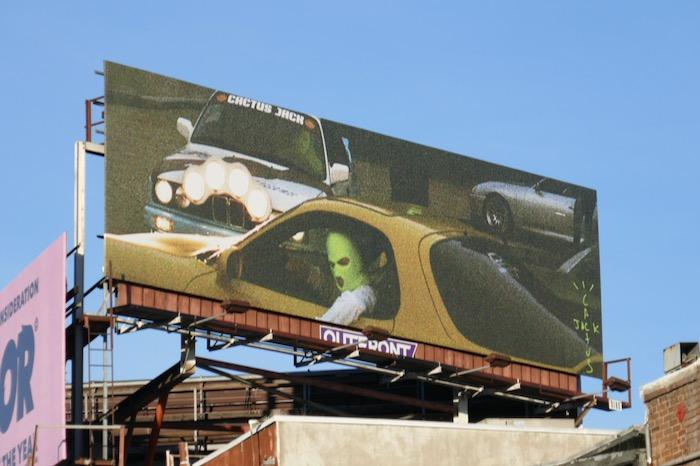 Cactus Jack Records billboard