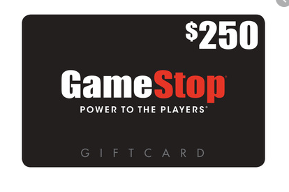 Get $250 to Spend at Gamestop!
