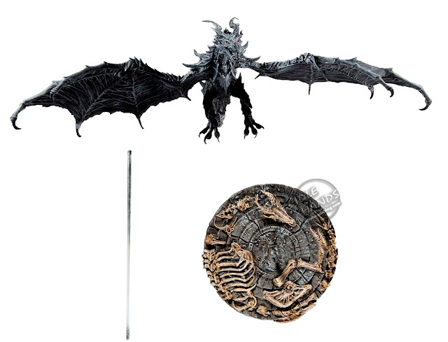 Toy Fair 2020 McFarlane Toys Elder Scrolls V: Skyrim Alduin Deluxe Box Action Figure