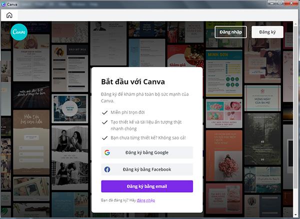 Tải CANVA - Công cụ chỉnh sửa ảnh và thiết kế đồ họa miễn phí a
