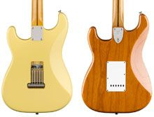 La Influencia de la Tapa Trasera de las Stratocaster