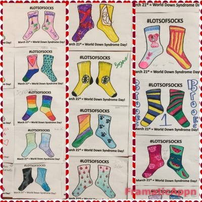 https://www.teacherspayteachers.com/Product/Lots-of-Socks-Day-World-Down-Syndrome-Day-March-21st-3687860