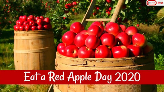 Eat A Red Apple Day 2020