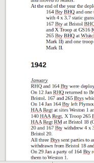Royal Artillery DRAMA reports ww2 war diaries