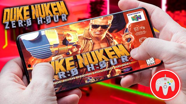 Duke Nukem: Zero Hour Para Teléfonos Android (ROM N64)