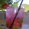 cocktail rosa del mago del gin tonic
