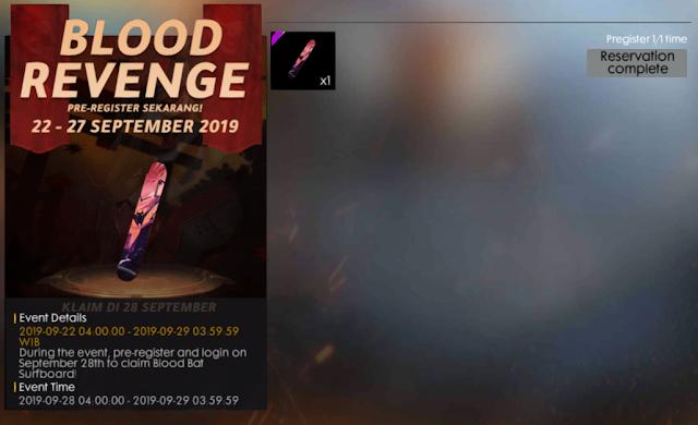 Cara Mendapatkan Skin AK47 Shimada Gratis Event Blood Revenge Free Fire