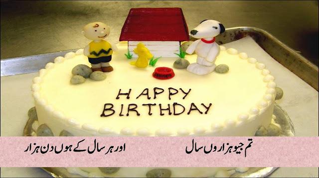 Happy Birthday Shayari In Urdu/Hindi For Friends