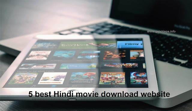 5 best Hindi movie download website Bangla
