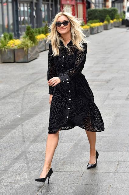 Ashley Roberts – Wears The Artist London dress in London