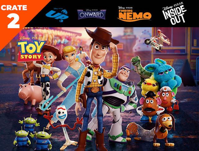 Pixar Loot Crate 2 Toy Story