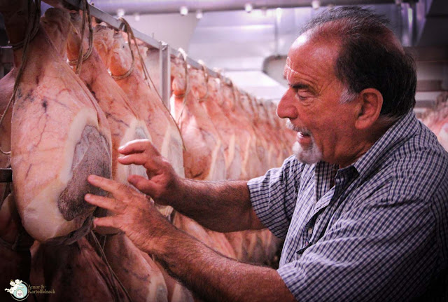 Lagerung Reife Prosciutto di Parma