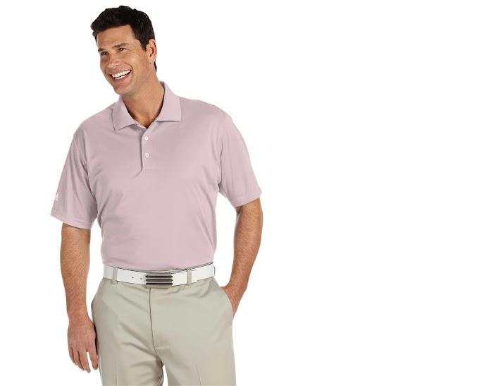 adidas Men's ClimaLite Basic Performance Pique Sport Shirt