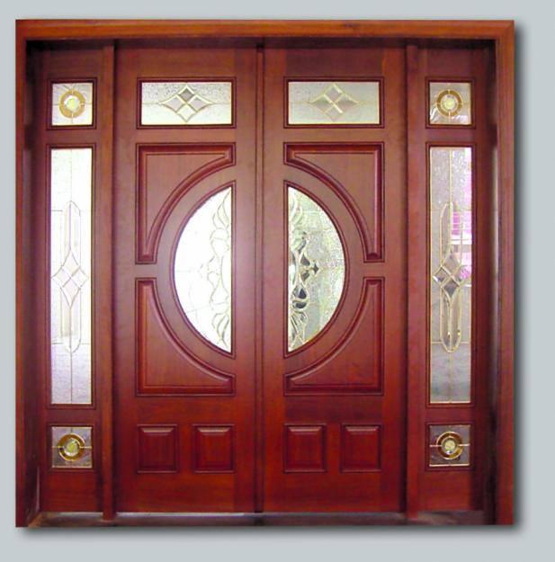cửa gỗ lim lào -mẫu 5