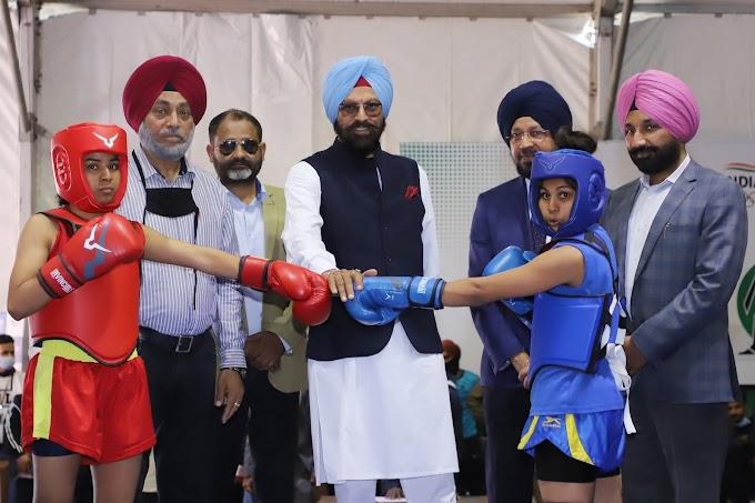 Chandigarh University host 29th Senior National Men & Women Wushu championship