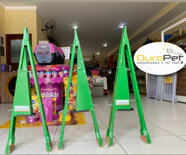 """Loja Agropecuária e Pet Shop """"Ouro Pet"""" em Caraúbas tem grande variedade em produtos"""