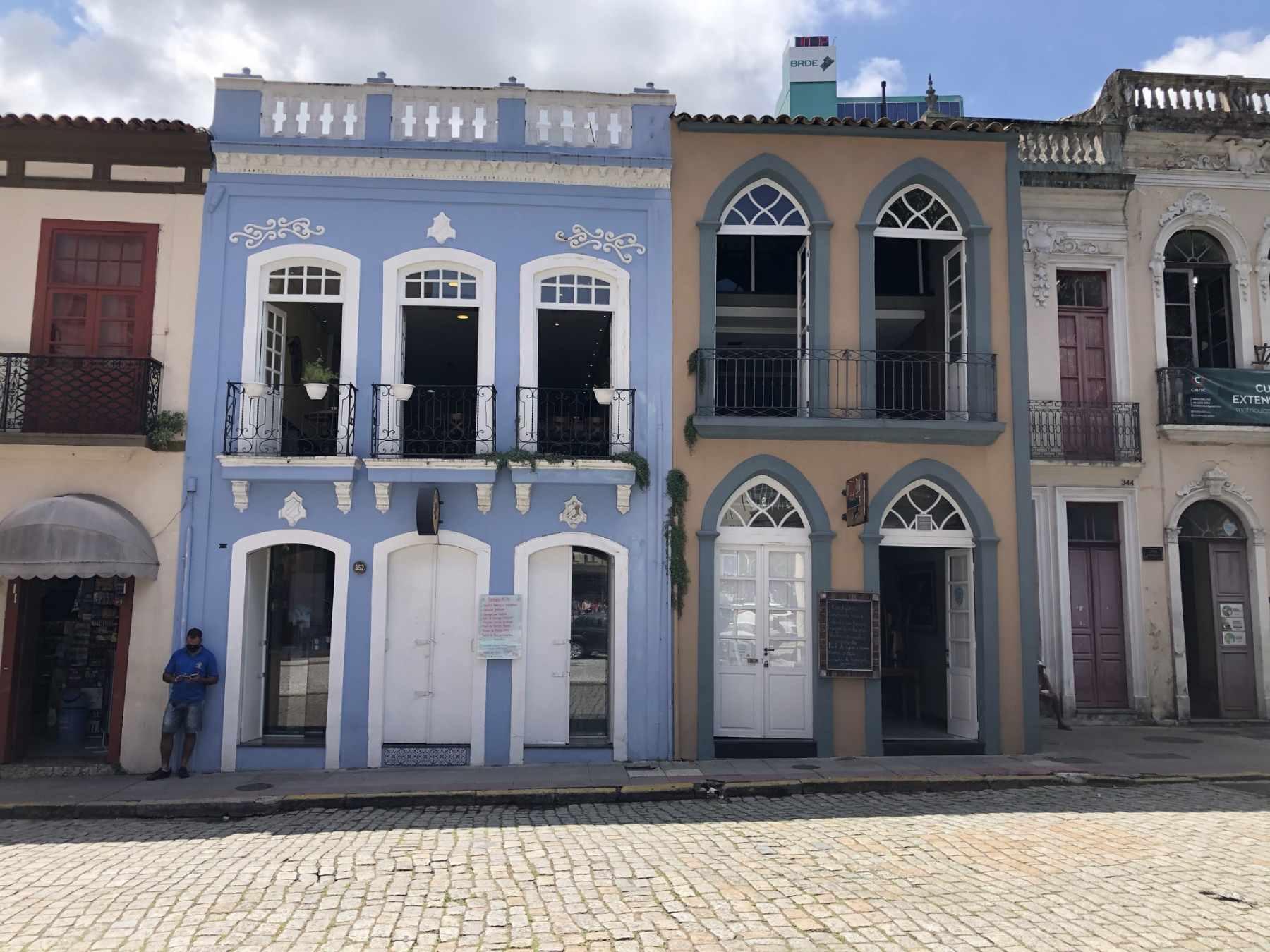 Pelo Centro Histórico de Florianópolis