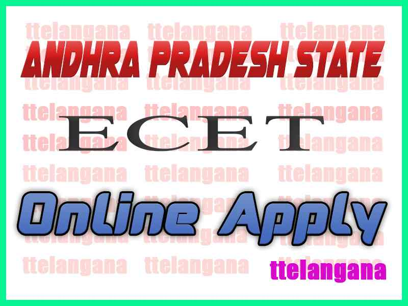 Andhra Pradesh  ECET APECET 2020 Online Apply