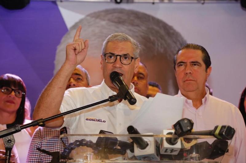 Video: Gonzalo Castillo se declara ganador en primarias del PLD