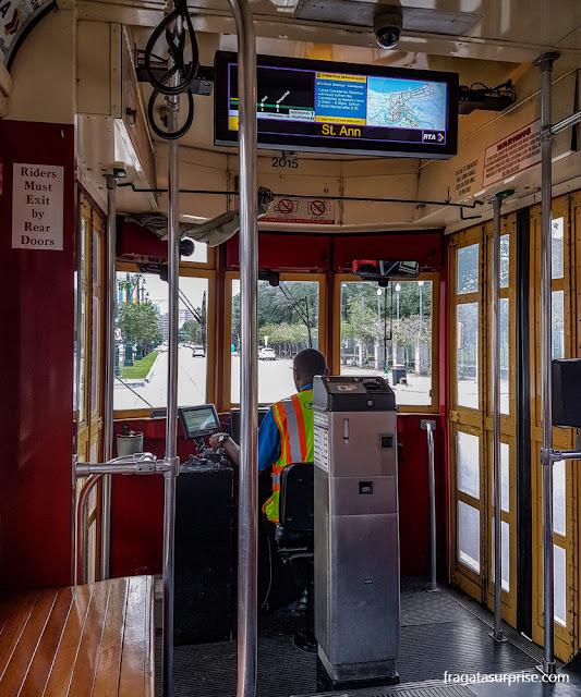Bonde de Nova Orleans (streetcar)