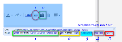 Cara memasang gambar di blog properties image blogspot mengatur posisi gambar blog