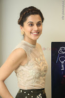Taapsee Pannu in transparent top at Anando hma theatrical trailer launch ~  Exclusive 040.JPG