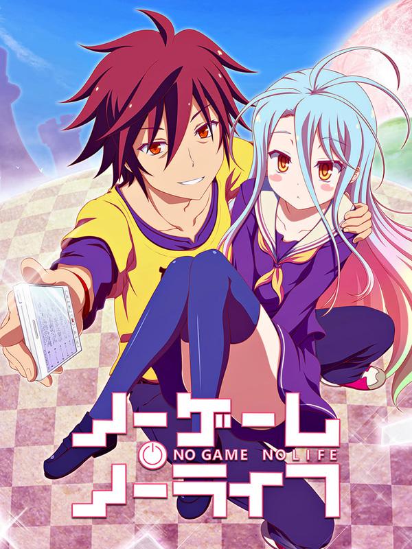 No Game No Life |01/12| |Latino/Castellano/Japonés + Sub. Esp| |BD Ligero 720p| |MF|