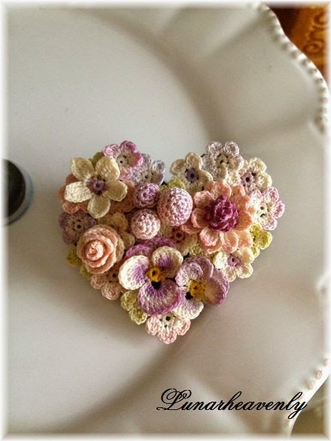 serce z elementow szydelkowych