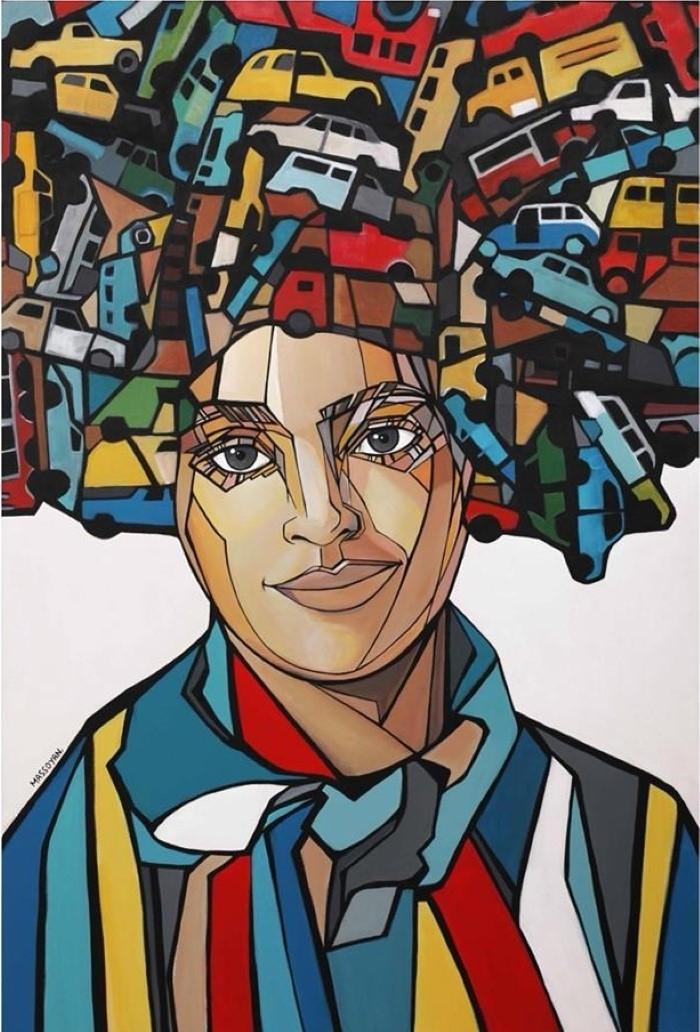 Армянский художник. Rita Massoyan
