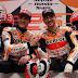 Marquez, Lorenzo top the bill in Valencia