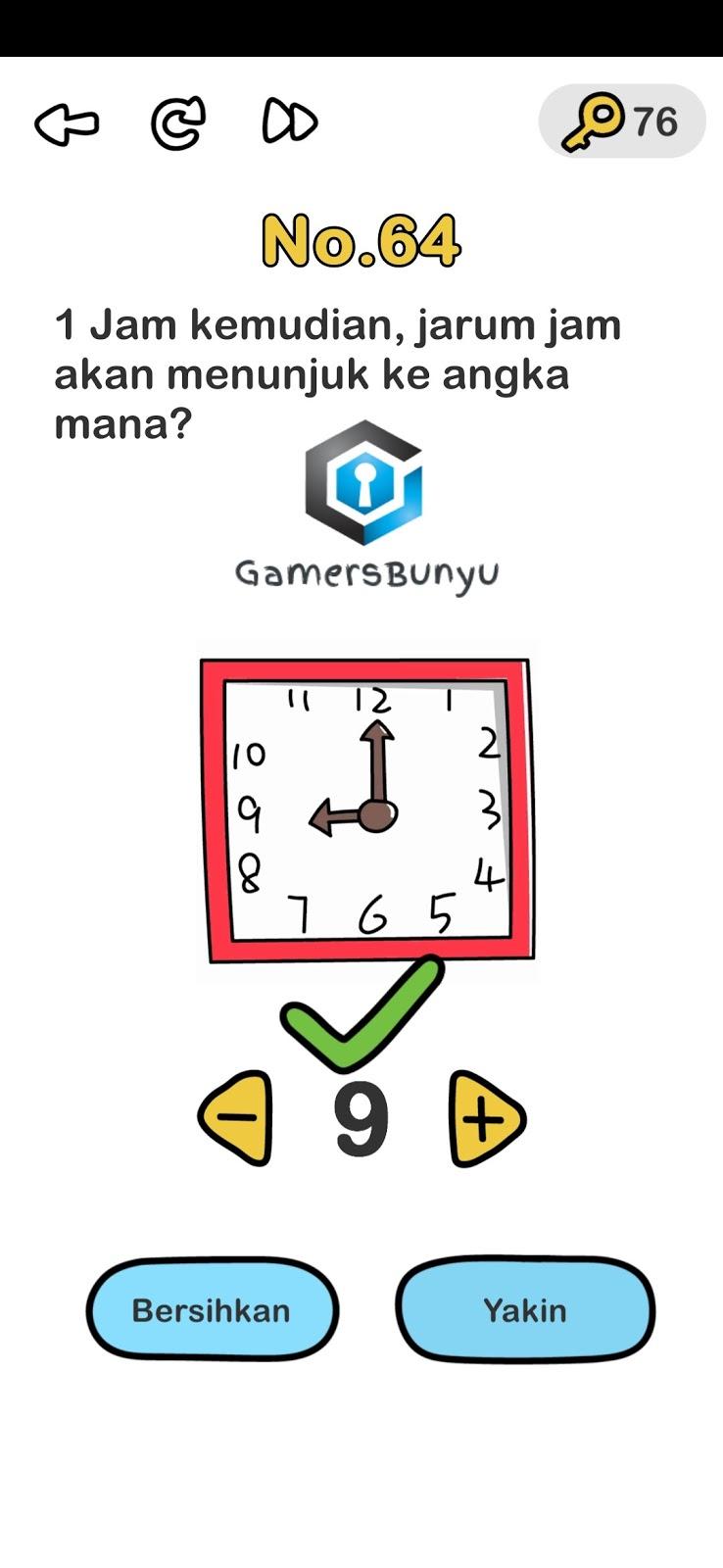 Jawaban Brain Out Level 61 62 63 64 65 66 67 68 69 70 Gamers Bunyu