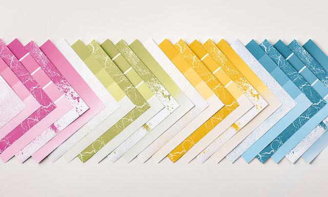 Bloc de papier de la série design Théorie des couleurs Stampin' Up! color theory
