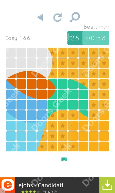 Cheats, Walkthrough for Blocks and Shapes Level 186