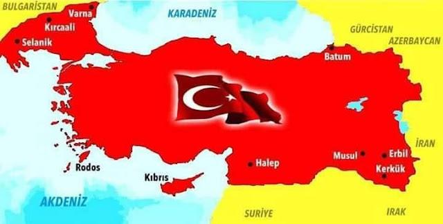 Ο απόλυτος εξευτελισμός - Ο υπουργός Άμυνας της Τουρκίας θέλει τουρκική την Κύπρο και τη Β. Ελλάδα μέχρι την Κατερίνη