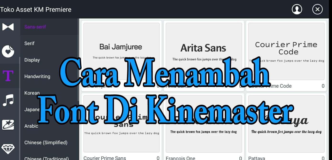 Cara Menambah Font Di Aplikasi Kinemaster Android 2 Cara Menambah Font Di Aplikasi Kinemaster Android