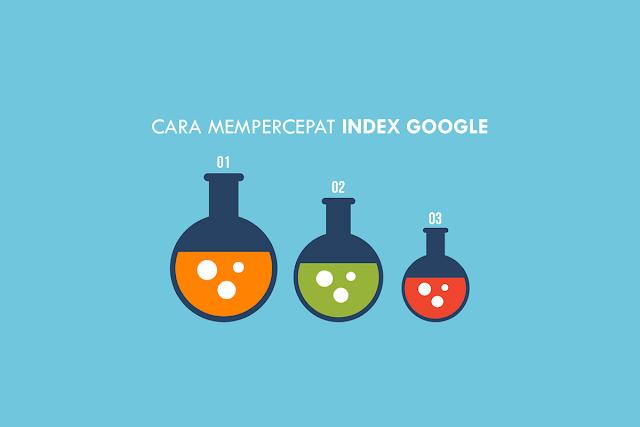 Cara mempercepat Index Google