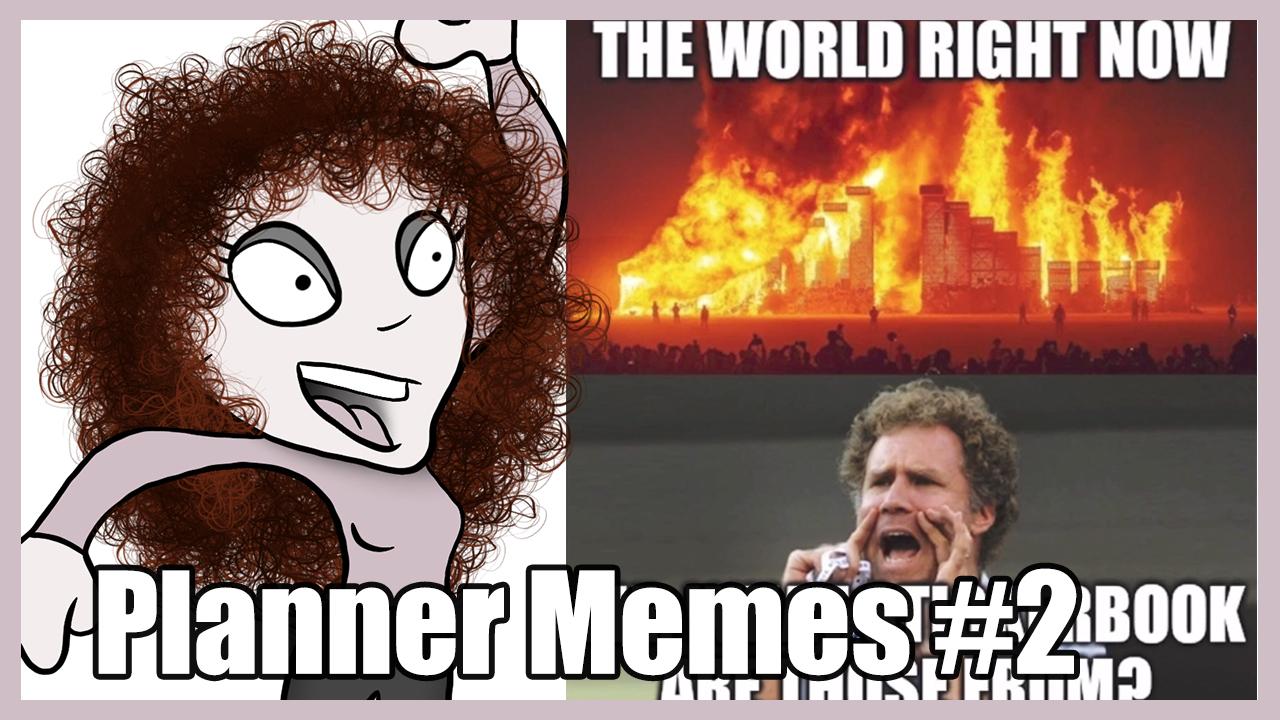 Planner Meme
