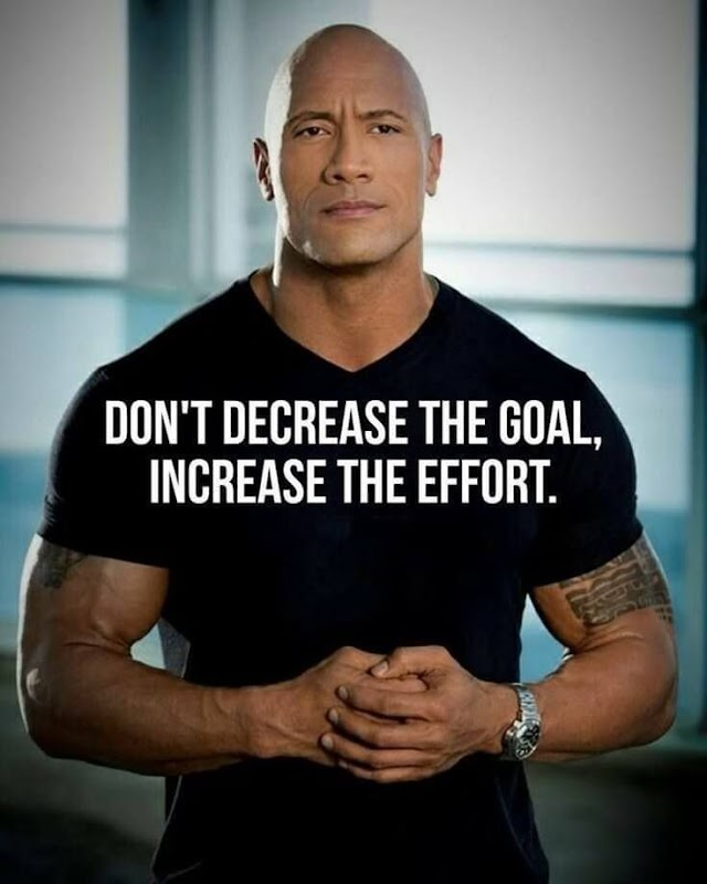 Don't Decrease the Goal - Quotes Top 10 Updated