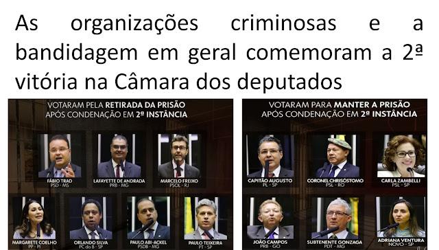A 2ª vitória do crime no Congresso Brasileiro