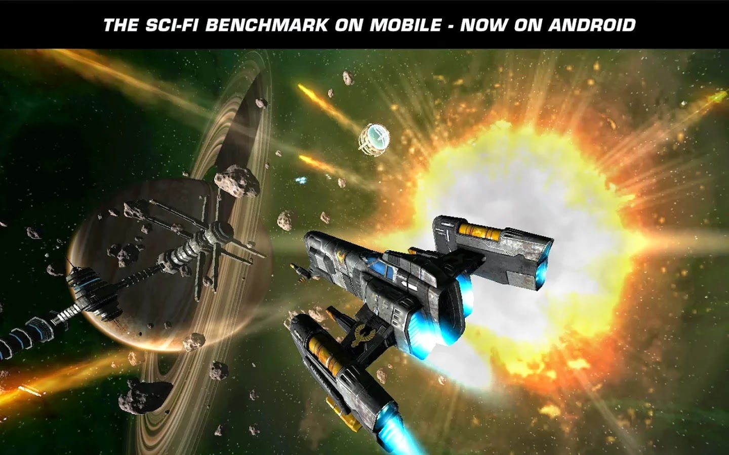 Tải Game Miễn Phí, Game Android, Ứng Dụng Android: Galaxy on Fire 2