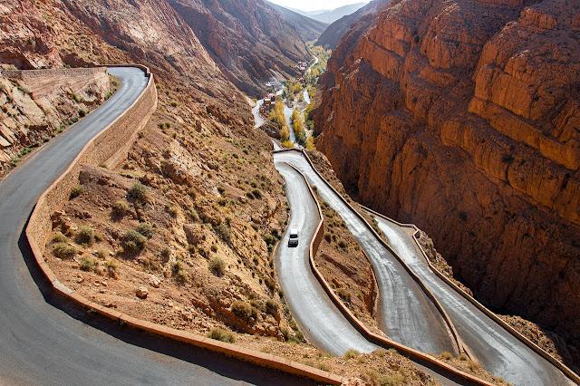 فجاج دادس في المغرب