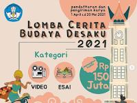 [GRATIS] Lomba Menulis Esai dan Video Nasional 2021 di Kemdikbud