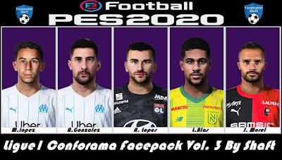 PES 2020 Ligue1 Conforama Facepack Vol. 3 by Shaft