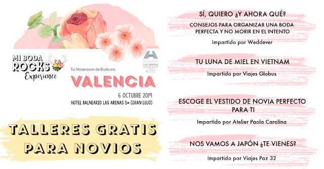 talleres para novios mi boda rocks experience valencia 2019
