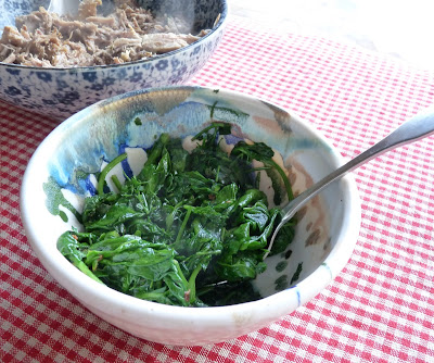 Spinach with Chervil