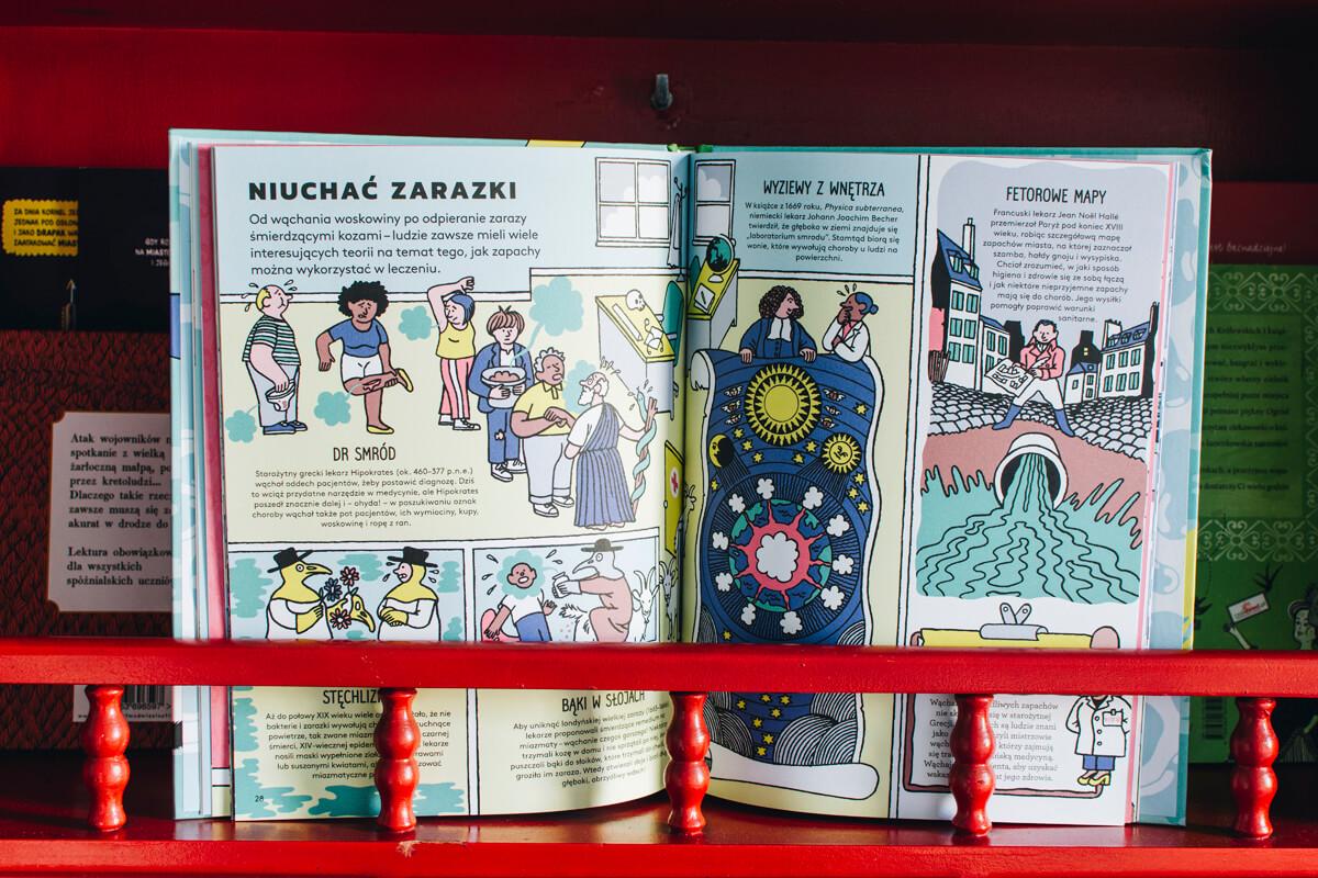 Otwarta książka Zapaszki o wszystkich smrodach świata