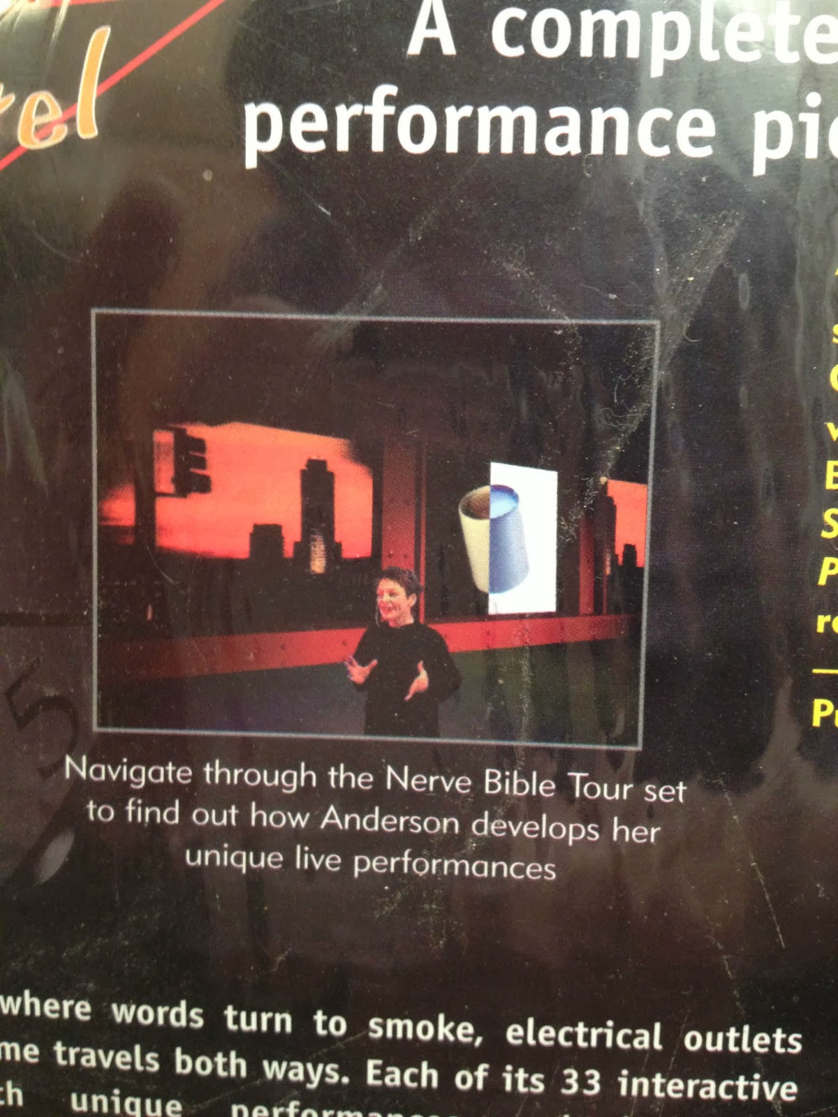 Artists' Books and Multiples: Laurie Anderson | Puppet Motel