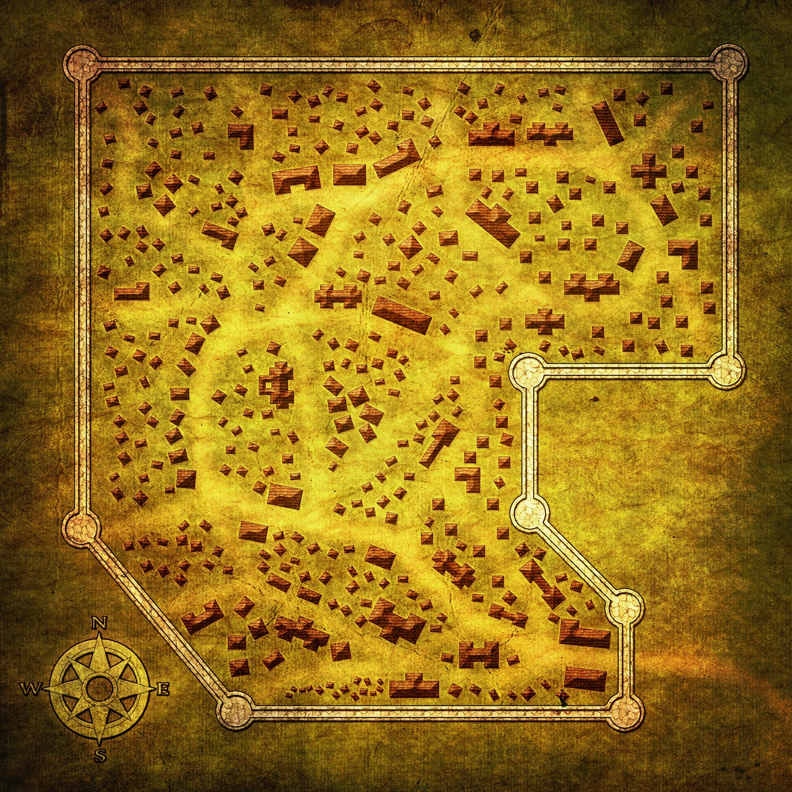 Free Town Map | The Labyrinth